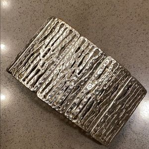 Chicos Silver Stretch Bracelet